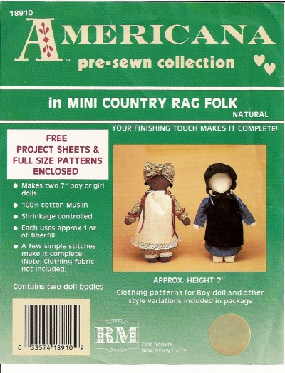 Americana Rag Doll Clothes