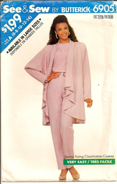 Butterick 6905 - Click Image to Close