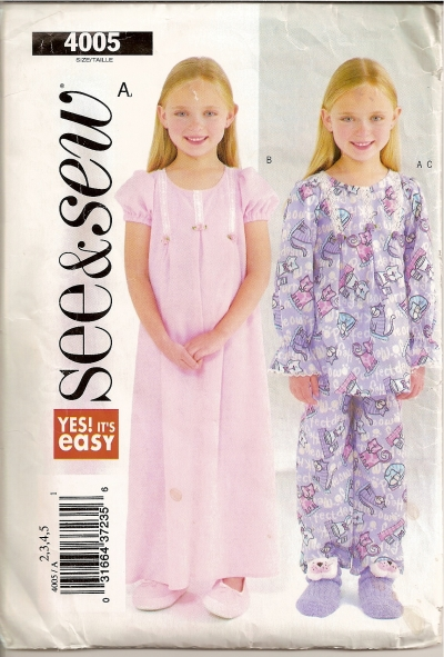 Butterick 4005 - Click Image to Close