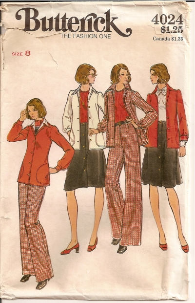 Butterick 4024 - Click Image to Close