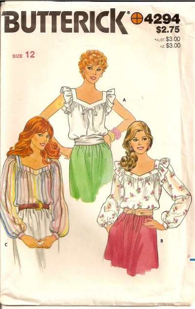 Butterick 5101 Misses/' Top and Skirt      Sewing Pattern