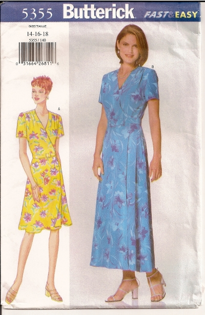 Butterick 5355 - Click Image to Close