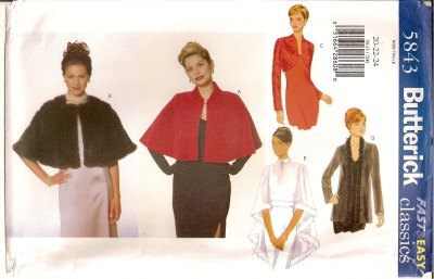 Butterick 5843 - Click Image to Close