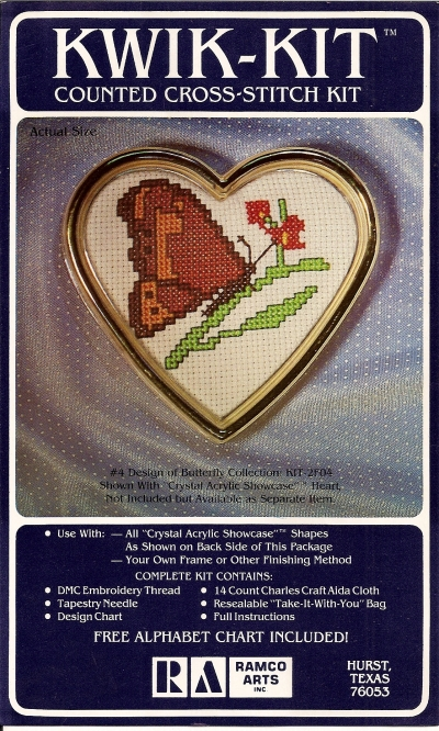 Butterfly Cross-Stitch - Click Image to Close