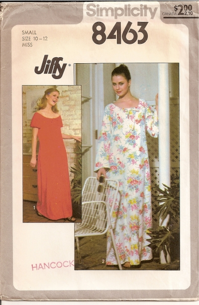 Simplicity 8463 Gown