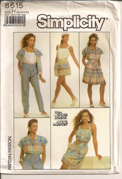 Simplicity 8615 - Click Image to Close